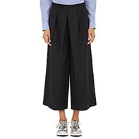 Tomorrowland Women's Poplin Culottes Black Blue Black Blue