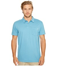 Billabong Standard Issue Polo Shirt Petrol Blue Men's Clothing