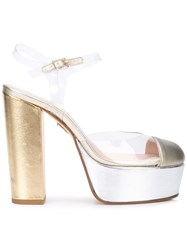 Ritch Erani Nyfc Transparent Platform Pumps Metallic