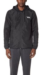 Rvca Va Axe Packable Jacket Black