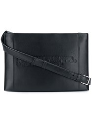 Calvin Klein 205W39nyc Embossed Crossbody Bag Black