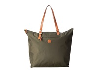 Bric's Milano X Bag Sportina Grande Xl Shopper Olive Tote Handbags