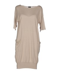 Snobby Sheep Dresses Short Dresses Women Beige