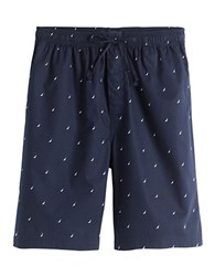 Nautica Drawstring Sleep Shorts Maritime Navy