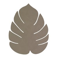 Lind Dna Monstera Leaf Table Mat Large Army Green