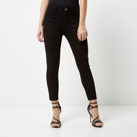 River Island Womens Petite Black Molly Jeggings