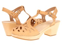 Swedish Hasbeens Lacy Sandal Nature High Heels Neutral
