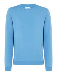Farah Men's Pickwell Slim Fit Sweatshirt Blue