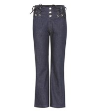 See By Chloe High Rise Jeans Blue