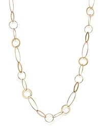 Bloomingdale's 14K Yellow Gold Round And Marquise Link Necklace 18