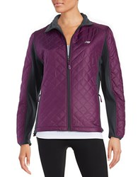 New Balance Quilted Jacket Imperial