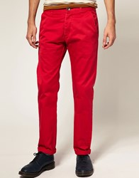 Dr. Denim Dr Donk Chino Red