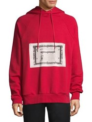 Public School Bobo French Terry Hoodie Red