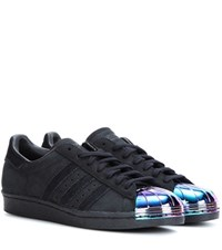 Adidas Superstar 80S Suede Sneakers Black