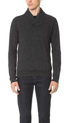 Splendid Mills Shawl Collar Sweater Black