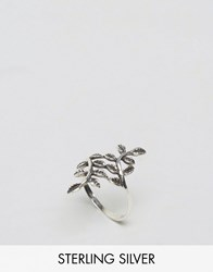 Kingsley Ryan Sterling Silver Leaf Ring Silver