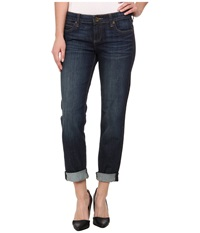 Kut From The Kloth Catherine Boyfriend In Royal Wash Euro Base Royal Wash Euro Base Women's Jeans Blue