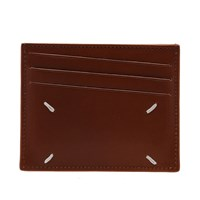 Maison Martin Margiela 11 Classic Leather Card Holder Brown