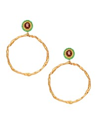 Katerina Psoma Earrings Gold