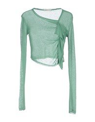 Doralice Sweaters Light Green