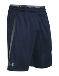 Under Armour Mesh Athletic Shorts Navy