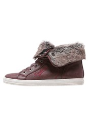 Dockers By Gerli Hightop Trainers Dunkelrot Dark Red