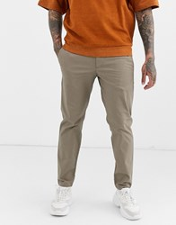 Armani Exchange Slim Fit Chinos In Stone