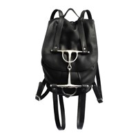 Horse Nail Rider Backpack Black