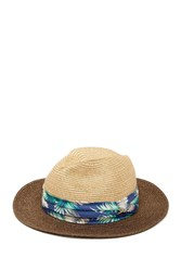 Tommy Bahama Fine Braid Safari Hat Tea