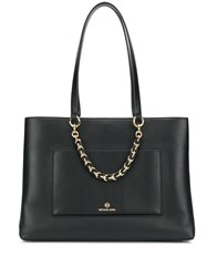Michael Kors Collection Cece Chain Tote Bag Black