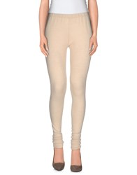 Donna Karan Trousers Leggings Women Beige