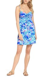 Lilly Pulitzer Margarete Cover Up Bennet Blue Celestial Seas