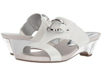 Anne Klein Teela Off White Synthetic Women's Wedge Shoes
