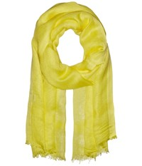 Love Quotes Linen Eyelash Scarf Sunshine Scarves Yellow