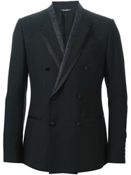 Dolce And Gabbana Dinner Jacket Black
