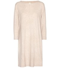 Jardin Des Orangers Virgin Wool And Cashmere Sweater Dress Beige