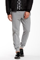 Versace Seamed Sweatpant Gray