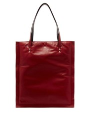 Joseph Marcel Pillow Padded Leather Tote Red