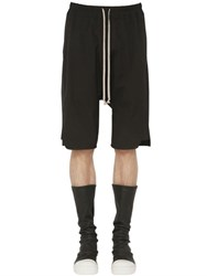 Rick Owens Stretch Cotton Jersey Shorts