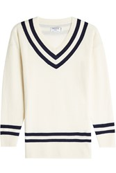Frame Denim Wool Pullover With Cashmere