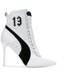 Puma Rihanna High Heel Sneakers White