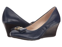 Cole Haan Tali Grand Bow Wedge 65 Blazer Blue Women's Wedge Shoes