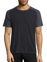 Splendid Mills Striped Crewneck T Shirt