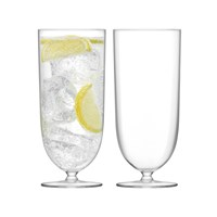 Lsa International Olivia Highball Clear Set Of 2