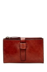 Lucky Brand Genuine Leather Dylan Continental Wallet Brown
