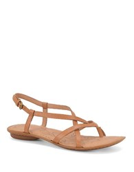 Born Mai Leather Sandals Brown
