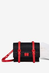 Nasty Gal Picture Perforation Buckle Bag