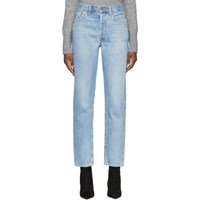 Gold Sign Goldsign Blue The Benefit High Rise Jeans