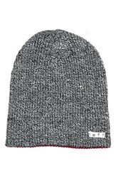 Men's Neff 'Daily' Reversible Knit Cap Black Black White Maroon