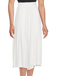 1.State Pleated Culotte Pants Cloud